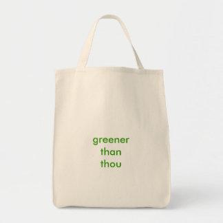 """""""Mais verde do que o bolsa do mantimento de mil"""""""