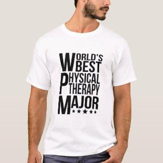 Major da fisioterapia do mundo o melhor camiseta