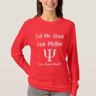 Major de Psych - t-shirt das senhoras Camiseta