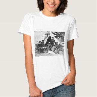 Major. Gerador Philip Sheridan e seus generais T-shirt