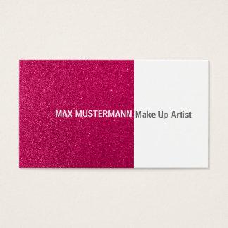 Make Up ator cartão de presentação