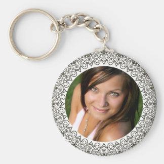 Make Your Own Girlfriend Wife Photo Keychain