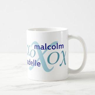 Malcolm & série de Adelle Caneca De Café
