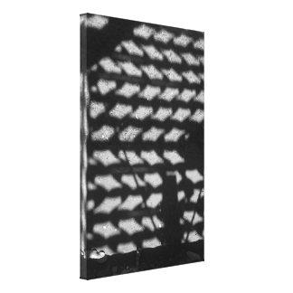 Malha de Luz Impressão Em Tela