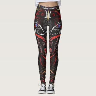 Malhação demoníaco leggings