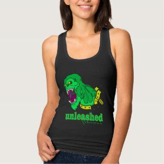 Malhação desencadeada - gorila verde tanque cabido tshirts