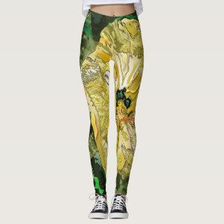 Malhação do hibiscus leggings