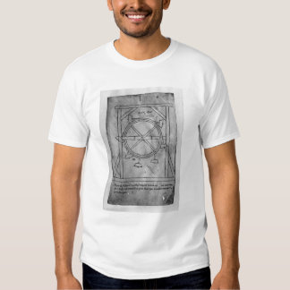 Malhos e roda do movimento suposta perpétuo camisetas