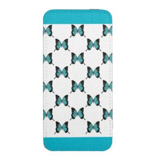 Malote do telefone do azulejo da borboleta bolsinha para celular