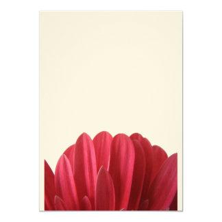 Malote floral convite 12.7 x 17.78cm