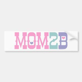 Mamã 2 B Adesivo Para Carro