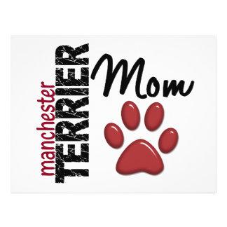 Mamã 2 de Manchester Terrier Panfletos Personalizado