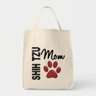Mamã 2 de Shih Tzu Bolsas De Lona
