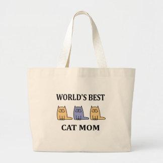Mamã 2 do gato do Besr do mundo Bolsa