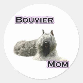 Mamã 4 de Bouvier - etiqueta Adesivo