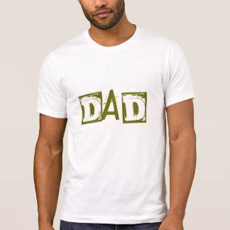 Mamã + A camisa Sleeved Short do pai do pai