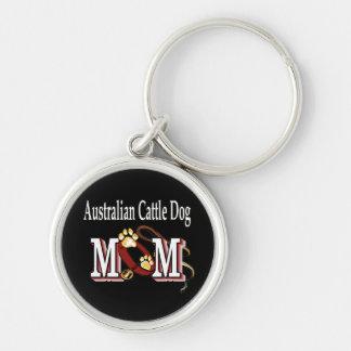 mamã australiana do cão do gado chaveiro