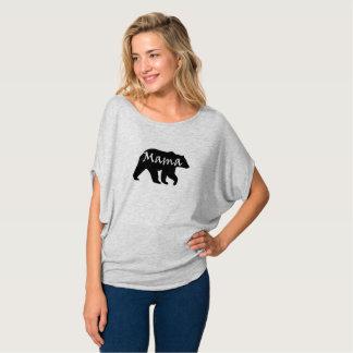 Mama Carregamento Camisa de Flowy