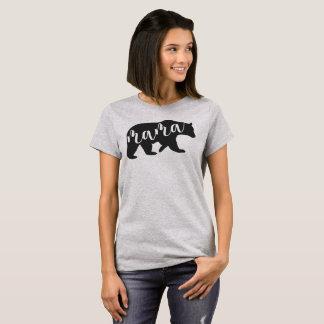 Mama Carregamento Camisa - urso também disponível