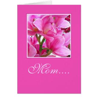 Mamã…. - Cartão