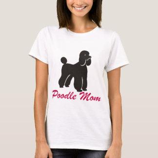 Mamã da caniche camiseta