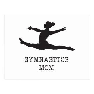Mamã da ginástica cartão postal