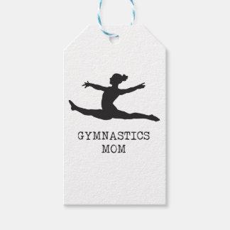 Mamã da ginástica etiqueta para presente
