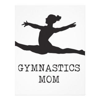 Mamã da ginástica papel timbrado