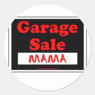 Mama da venda de garagem adesivo