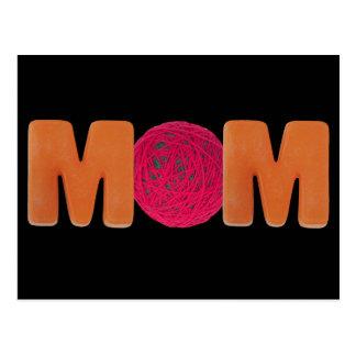 Mamã de confecção de malhas cartão postal