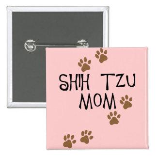 Mamã de Shih Tzu Botons