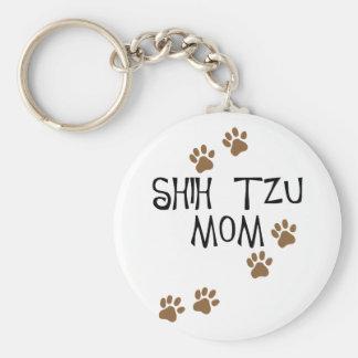 Mamã de Shih Tzu Chaveiros