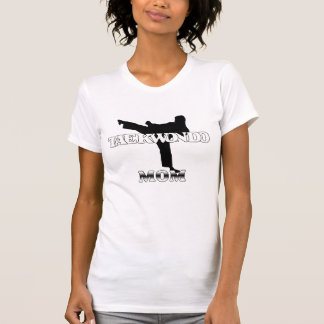 MAMÃ de Taekwondo T-shirt