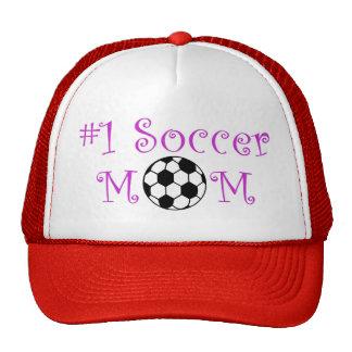 Mamã do futebol #1 bonés