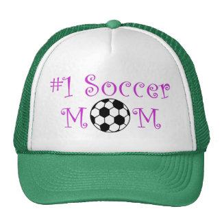 Mamã do futebol #1 boné