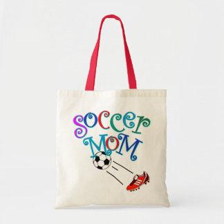 Mamã do futebol sacola tote budget