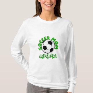 Mamã do futebol camiseta