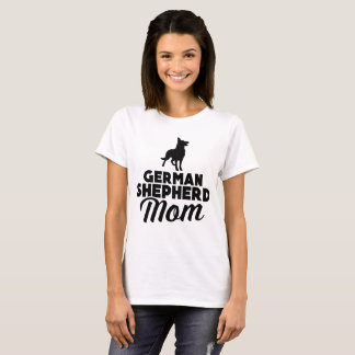 Mamã do german shepherd camiseta