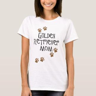 Mamã do golden retriever camiseta