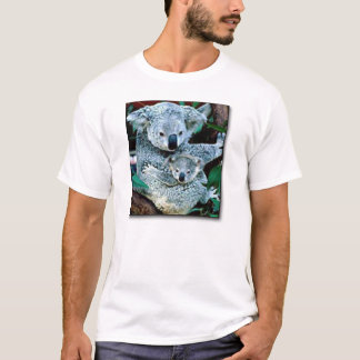 mamã do koala camiseta
