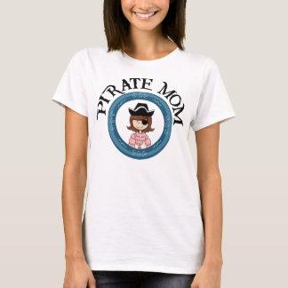 Mamã do pirata camiseta