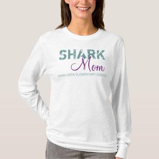 Mamã do tubarão camiseta