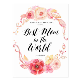 Mamã dos cartão do feliz dia das mães a melhor no