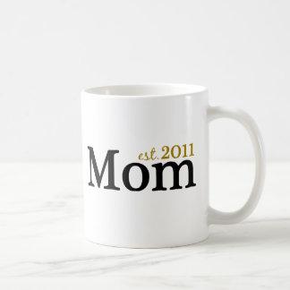 Mamã Est 2011 Caneca De Café
