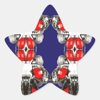 MAMÃ FEMININO da MENINA da OCASIÃO decorativa de Adesivo Em Forma De Estrela