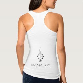Mama Jedi Ohm Lotus Tanque Regata Racerback Jersey