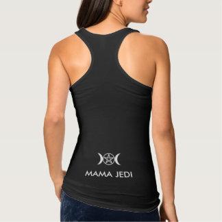 Mama Jedi Triplo G Tanque Camiseta