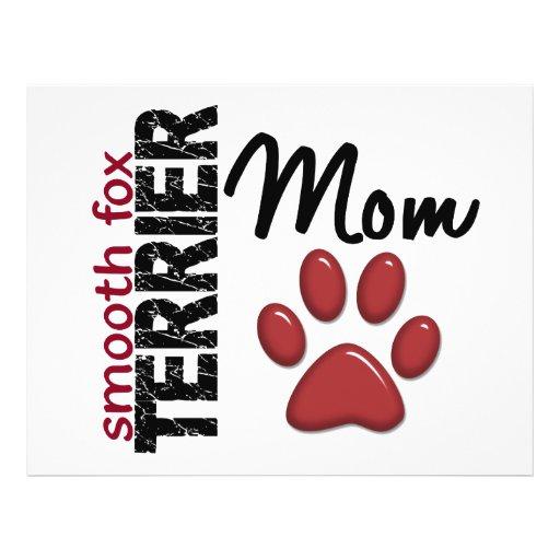 Mamã lisa 2 do Fox Terrier Panfleto Personalizados