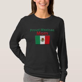 Mamã mexicana orgulhosa camiseta