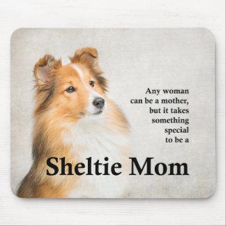 Mamã Mousepad de Sheltie